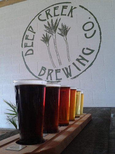 Deep Creek Brews and eats